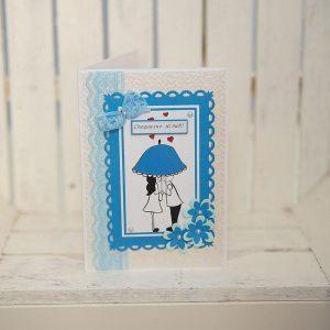 Картичка за Свети Валентин ръчна изработка