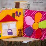 Тиха книжка-Къща с пъзели и игри
