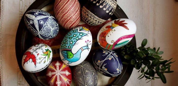 Работилница за Великденски писани яйца за възрастни и деца