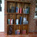 Щайгите като Арт мебел - библиотека за книги