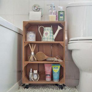 Щайга-шкаф за баня